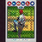 2008 Topps Chrome Baseball X-Fractors #096 Jered Weaver - Los Angeles Angels