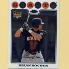 2008 Topps Chrome Baseball #205 Brian Bocock RC - San Francisco Giants