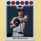 2008 Topps Chrome Baseball #178 Jo-Jo Reyes - Atlanta Braves
