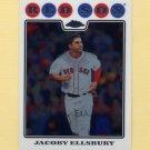 2008 Topps Chrome Baseball #124 Jacoby Ellsbury - Boston Red Sox
