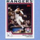 2004 Topps Baseball #633 Herbert Perry - Texas Rangers