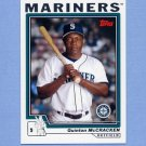 2004 Topps Baseball #622 Quinton McCracken - Seattle Mariners