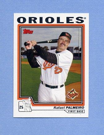 2004 Topps Baseball #620 Rafael Palmeiro - Baltimore Orioles