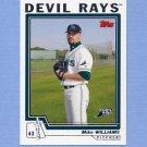 2004 Topps Baseball #598 Mike Williams - Tampa Bay Devil Rays