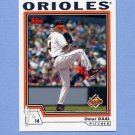 2004 Topps Baseball #479 Omar Daal - Baltimore Orioles