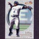 2001 Fleer Futures Baseball #178 Jeffrey Hammonds - Milwaukee Brewers