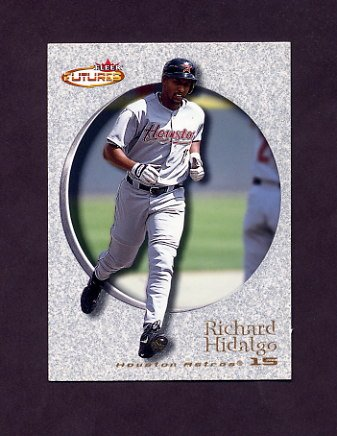 2001 Fleer Futures Baseball #163 Richard Hidalgo - Houston Astros