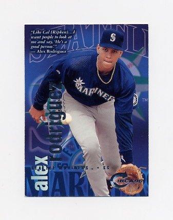 1996 Circa Baseball #081 Alex Rodriguez - Seattle Mariners