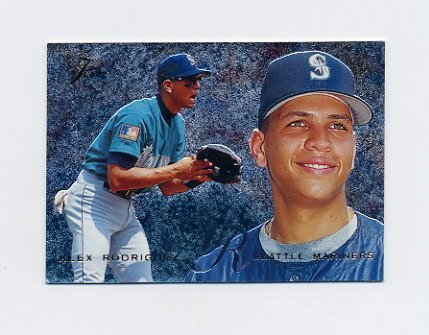 1995 Flair Baseball #085 Alex Rodriguez - Seattle Mariners