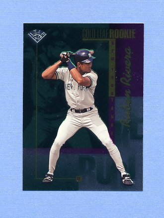 1996 Leaf Baseball #215 Ruben Rivera - New York Yankees