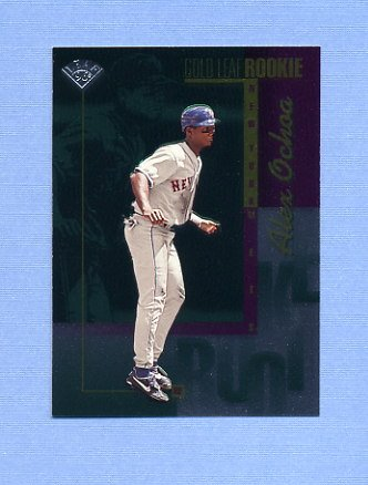 1996 Leaf Baseball #214 Alex Ochoa - New York Mets