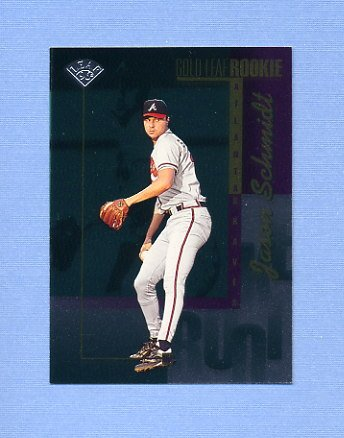 1996 Leaf Baseball #213 Jason Schmidt - Atlanta Braves