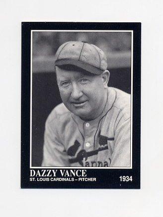 1992 Conlon TSN Baseball #377 Dazzy Vance - St. Louis Cardinals