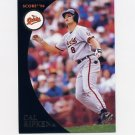 1994 Burger King Ripken Baseball #6 Cal Ripken Home Run Club - Baltimore Orioles