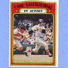 1972 Topps Baseball #038 Carl Yastrzemski IA - Boston Red Sox