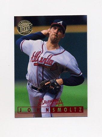 1995 Ultra Baseball Gold Medallion #133 John Smoltz - Atlanta Braves