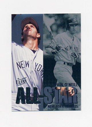 1995 Ultra Baseball All-Stars #14 Paul O'Neill - New York Yankees