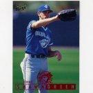 1995 Ultra Baseball #338 Shawn Green - Toronto Blue Jays