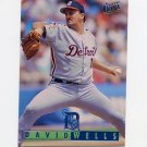 1995 Ultra Baseball #052 David Wells - Detroit Tigers