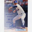 1992 Pinnacle Baseball #618 Nolan Ryan TECH - Texas Rangers