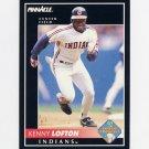 1992 Pinnacle Baseball #582 Kenny Lofton - Cleveland Indians