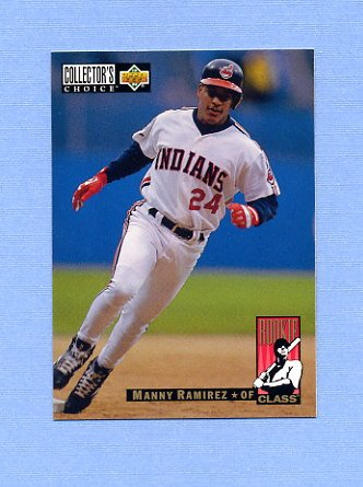 1994 Collector's Choice Baseball #016 Manny Ramirez - Cleveland Indians NM-M