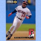1994 Collector's Choice Baseball #016 Manny Ramirez - Cleveland Indians NM-M
