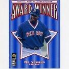 1996 Collector's Choice Baseball #706 Mo Vaughn MVP - Boston Red Sox