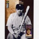 1996 Collector's Choice Baseball #500 Babe Ruth FC - New York Yankees