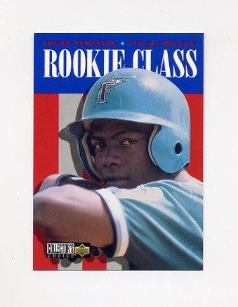 1996 Collector's Choice Baseball #446 Edgar Renteria - Florida Marlins