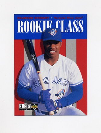 1996 Collector's Choice Baseball #433 Shannon Stewart - Toronto Blue Jays