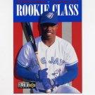 1996 Collector's Choice Baseball #433 Shannon Stewart - Toronto Blue Jays