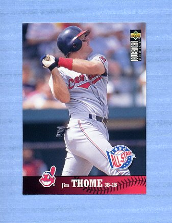 1997 Collector's Choice Baseball #094 Jim Thome - Cleveland Indians