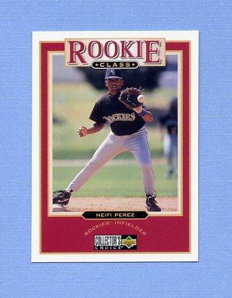 1997 Collector's Choice Baseball #017 Neifi Perez - Colorado Rockies