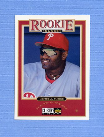 1997 Collector's Choice Baseball #014 Wendell Magee - Philadelphia Phillies