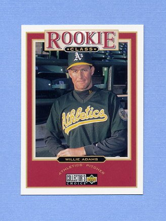 1997 Collector's Choice Baseball #013 Willie Adams - Oakland A's