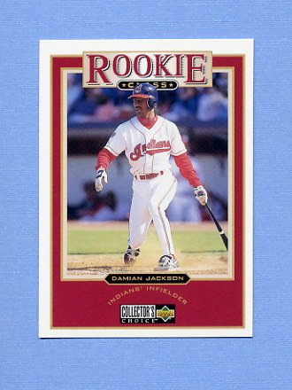1997 Collector's Choice Baseball #007 Damian Jackson - Cleveland Indians