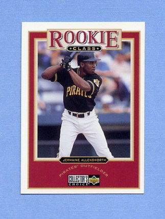 1997 Collector's Choice Baseball #006 Jermaine Allensworth - Pittsburgh Pirates