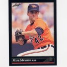 1992 Leaf Baseball Black Gold #013 Mike Mussina - Baltimore Orioles
