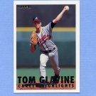 1993 Fleer Baseball Glavine #04 Tom Glavine - Atlanta Braves