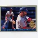 1993 Fleer Final Edition Baseball Diamond Tribute #08 Ozzie Smith - St. Louis Cardinals