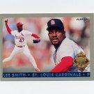 1993 Fleer Final Edition Baseball Diamond Tribute #07 Lee Smith - St. Louis Cardinals