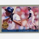 1993 Fleer Final Edition Baseball Diamond Tribute #03 Andre Dawson - Boston Red Sox