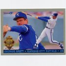 1993 Fleer Final Edition Baseball Diamond Tribute #02 George Brett - Kansas City Royals