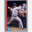 1993 Fleer Baseball #380 Greg Maddux - Atlanta Braves