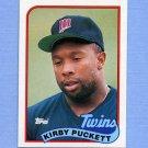1989 Topps Baseball #650 Kirby Puckett - Minnesota Twins