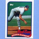 1989 Topps Baseball #450 Roger Clemens - Boston Red Sox NM-M