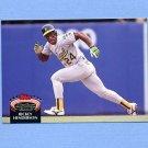 1992 Stadium Club Baseball #750 Rickey Henderson - Oakland A's NM-M