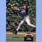1992 Stadium Club Baseball #015 Deion Sanders - Atlanta Braves