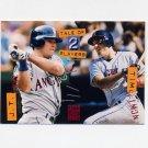 1994 Stadium Club Baseball #181 J.T. Snow / Tim Salmon - California Angels